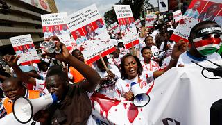 Kenyan lawyers protest in Nairobi over killing of colleague