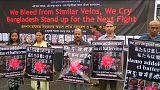 Bangladesh despide a las víctimas del atentado de Daca entre rezos y protestas
