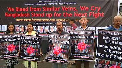 Dhaka trauert und will die Gewalt nicht hinnehmen