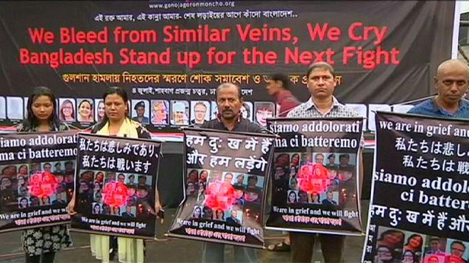 وقفات احتجاجية في بنغلادش