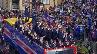 Isländische Nationalmannschaft: Triumphzug durch Reykjavik