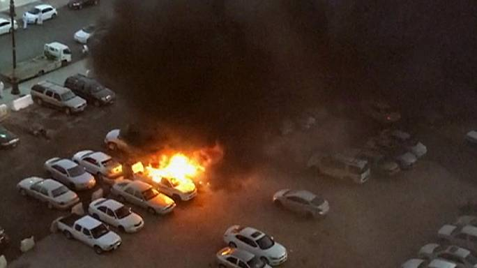 Four security officers killed as bombing wave hits Saudi Arabia