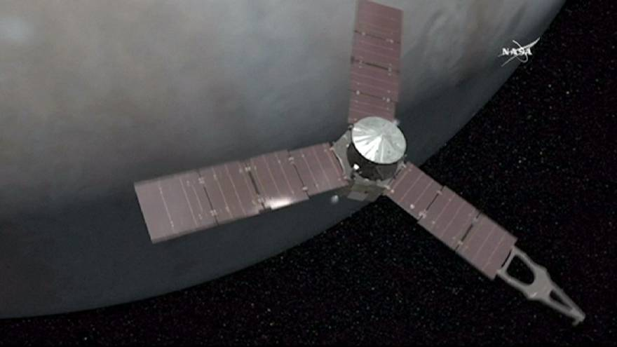 'Juno' Jüpiter'in yörüngesine oturdu