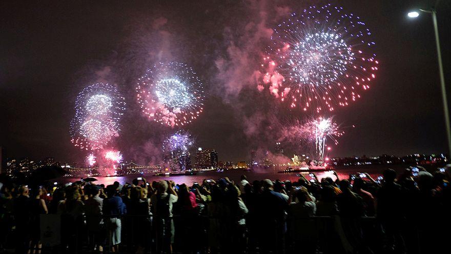 USA feiern Independence Day und 240. Geburtstag