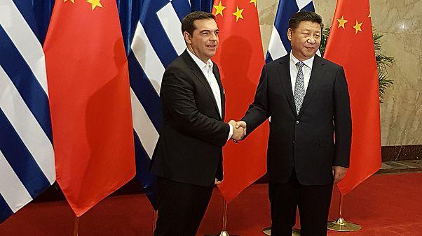 Για νέα λαμπρή περίοδο στις σχέσεις Ελλάδας-Κίνας, έκανε λόγο ο Αλ. Τσίπρας