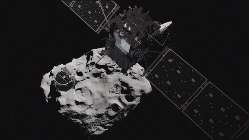Spacecraft Rosetta prepares to crash-land on comet 67P