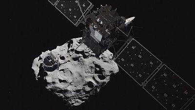 """Rosetta: Ein fulminantes Ende auf dem Kometen """"Tschuri"""""""