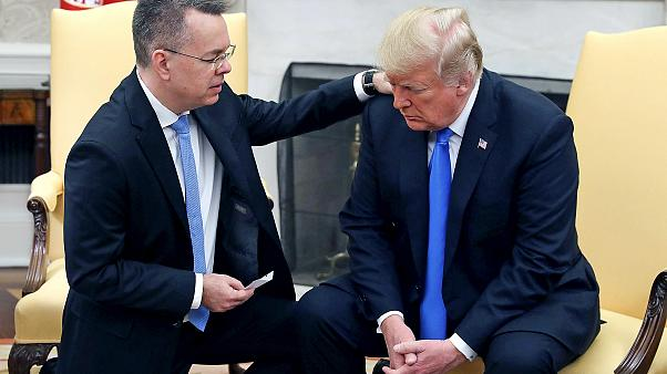 Image: President Trump Meets With Freed Pastor Andrew Brunson At The White