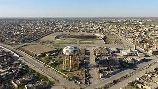 Iraque:Imagens aéreas revelam o caos em Ramadi