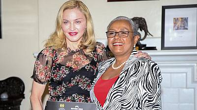 Madonna 'sneaked' into Kenya and made an impact 'Beyond Zero'