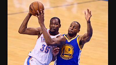 Kevin Durant signe chez les Warriors