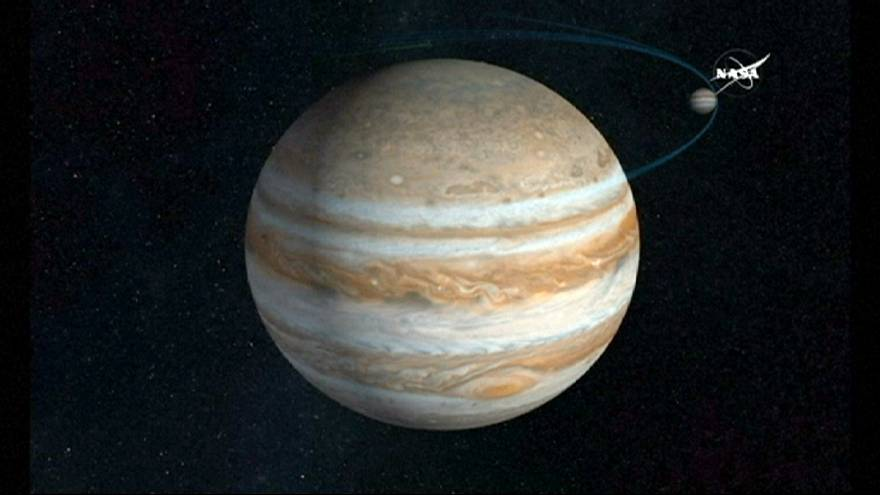 See first pictures of Jupiter from NASA's Juno probe