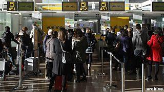 هرج و مرج در فرودگاه بارسلون؛ لغو صدها پرواز و سرگردانی هزاران مسافر