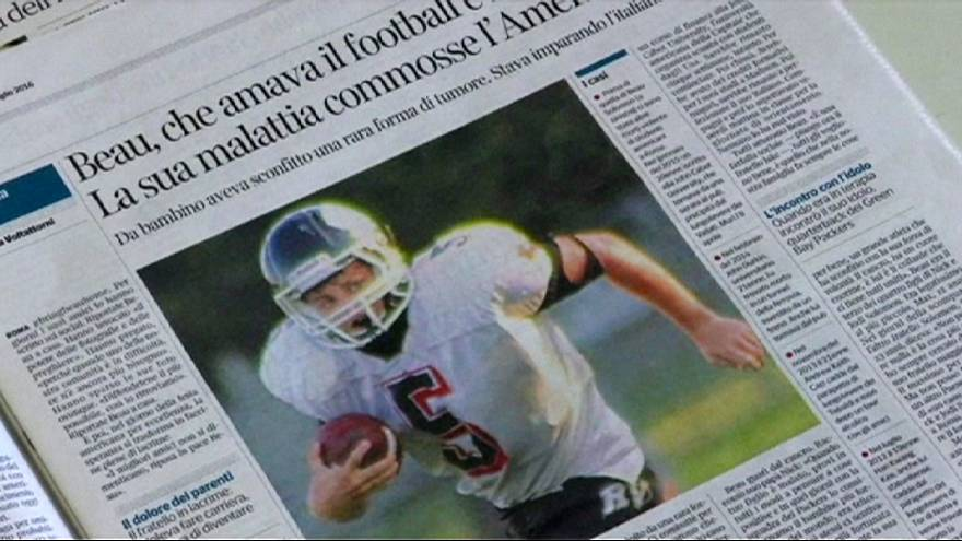 Sem-abrigo italiano suspeito da morte de jovem norte-americano