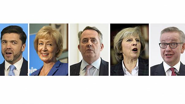 May leads field as UK Conservatives vote for Cameron successor, but Fox fails