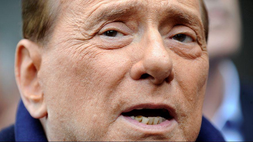 Silvio Berlusconi conquérant à sa sortie de l'hôpital