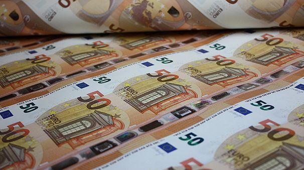 ЕЦБ представил новую банкноту в 50 евро