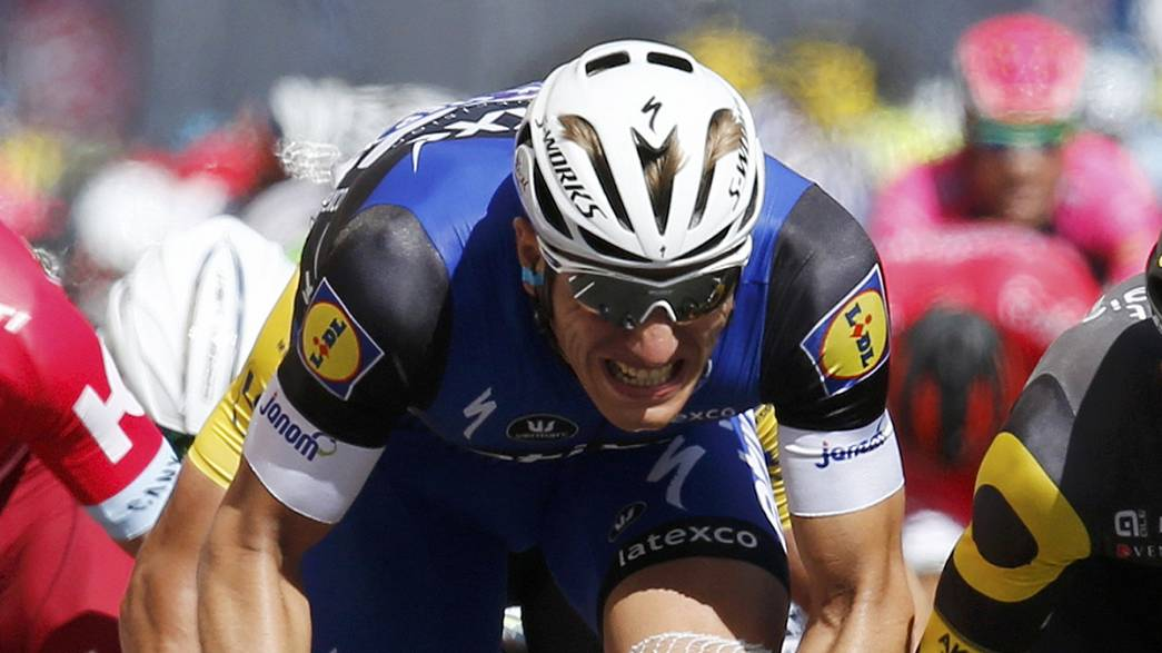 """Марсель Киттель выиграл четвертый этап """"Тур-де-Франс"""""""