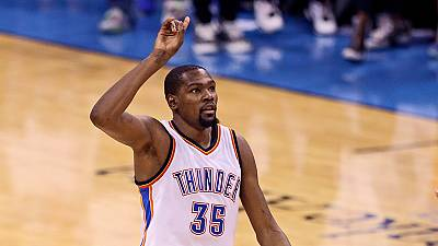 NBA : Kevin Durant à Golden State