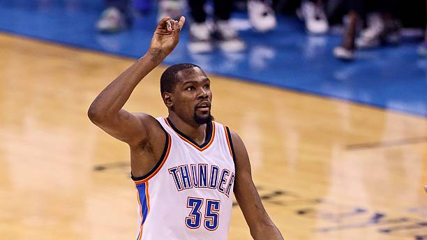 Durant leaves the Thunder to become a Golden Warrior