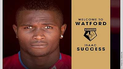 10 facts about Watford's record signing, 20-year old Nigerian Isaac Success