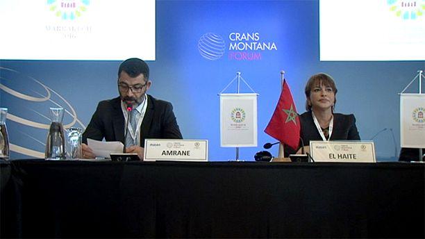 Crans Montana Forum debate climate change