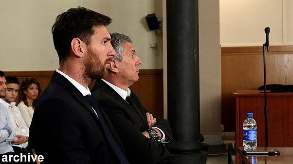 Messi y su padre condenados a 21 meses de cárcel por evadir impuestos