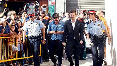 L'attaquant du Barça Leo Messi a été condamné à 21 mois de prison pour fraude fiscale