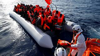 Cameroonian gives birth as 4,500 migrants picked up in Mediterranean