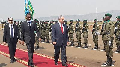 [Photo] Rwandan genocide, 'one of history's greatest crimes' - Israeli PM