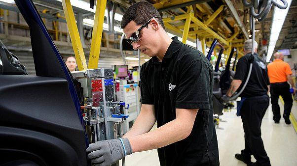 Las ventas de coches caen un 0,8 % en el Reino Unido