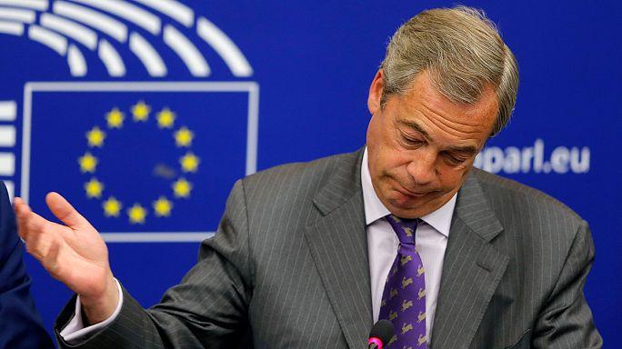 نايجل فاراج يصرح أنه سيغادر البرلمان الأوروبي دون أي أسف.