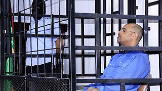 Gaddafi's son released after 2015 death sentence, lawyer says