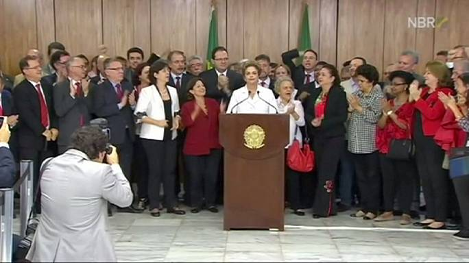 Politikai puccs áldozatának tartja magát a felfüggesztett brazil elnök