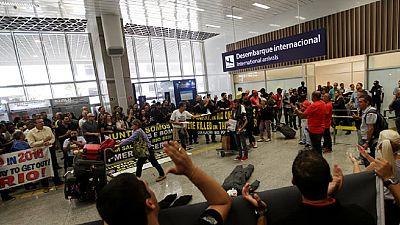 Rio: des manifestations contre le coût des J.O.