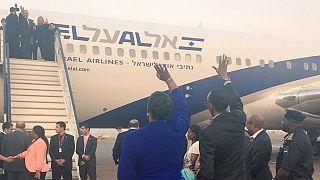 Israeli premier in Ethiopia on last leg of landmark African tour