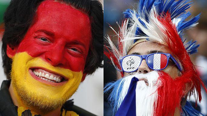 Франция - Германия: полуфинал закадычных соперников