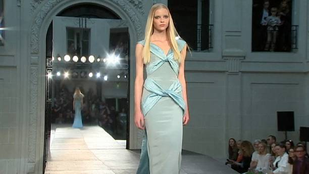 Versace kicks off Paris haute couture fashion week in style