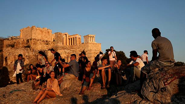 Greek tourism under pressure