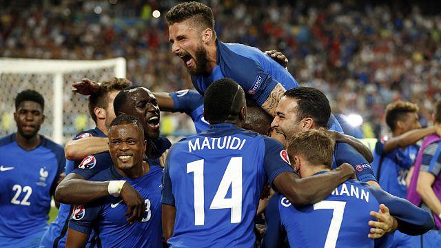 Франция обыграла Германию и вышла в финал Евро