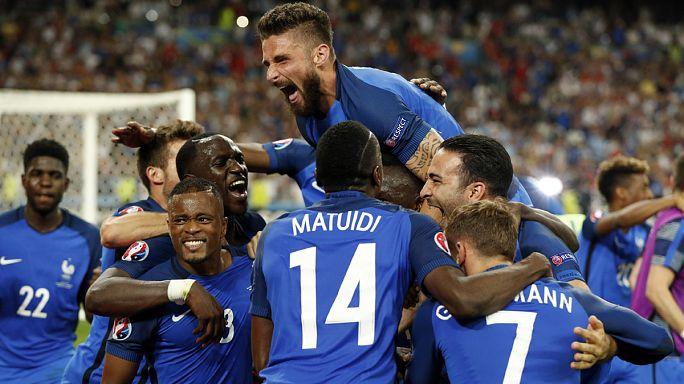 Euro 2016: França marca encontro com Portugal