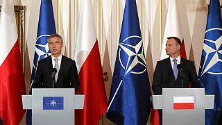 Varsóból üzen Moszkvába a NATO