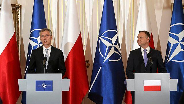 Вкратце из Брюсселя: саммит НАТО, наказание за дефицит, британским премьером станет женщина