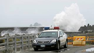 Тайвань и Китай готовятся к первому тайфуну