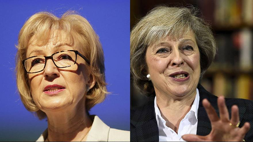 May and Leadsom make shortlist to become UK's next Prime Minister