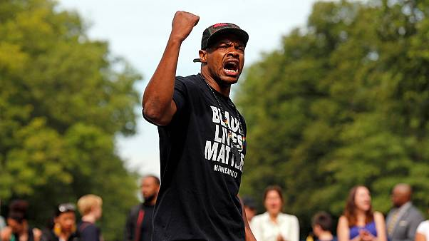 "Thousands march to say ""Black Lives Matter"""
