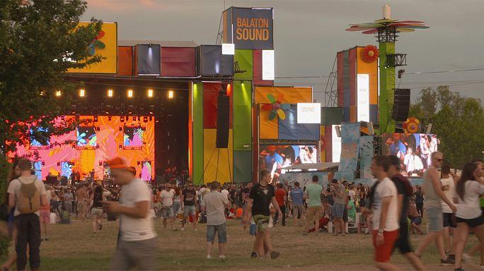 Doğa ve müziği bir araya getiren festival: Balaton Sound