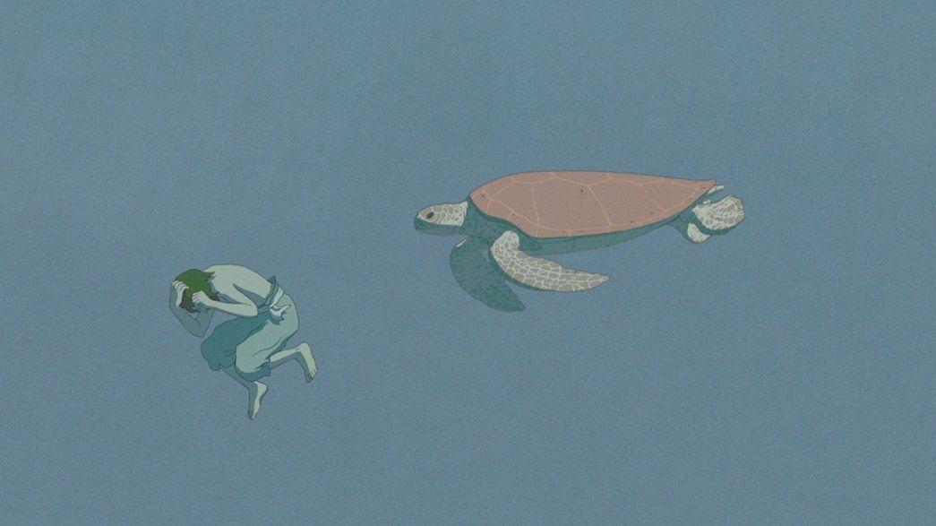 """La tartaruga rossa"", film onirico e poetico prodotto da studio Ghibli"