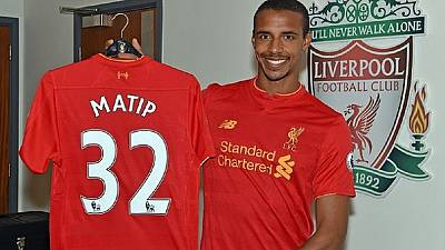 FECAFOOT congratulates Matip on Liverpool move