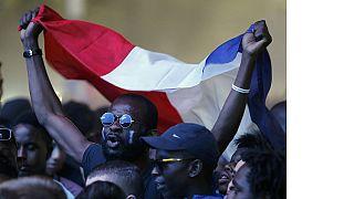 Euro 2016 : les fans français célèbrent la qualification des Bleus pour la finale